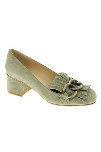 bianca di chaussures femme de couleur beige
