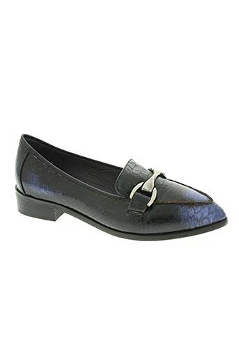 couleur pourpre chaussures femme de couleur bleu