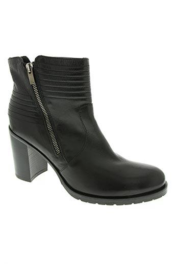 Bottines/Boots noir DONNA PIU pour femme