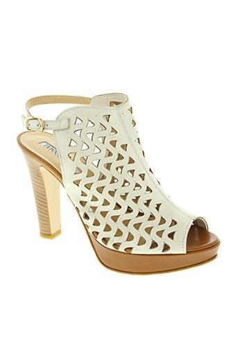 Sandales/Nu pieds blanc DONNA PIU pour femme