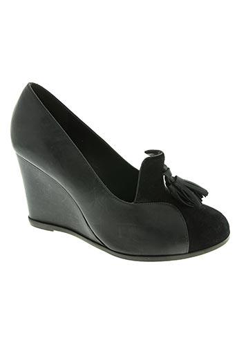 tila march chaussures femme de couleur noir