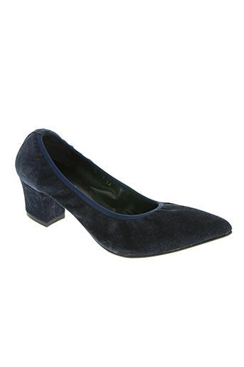 andy by semer chaussures femme de couleur bleu