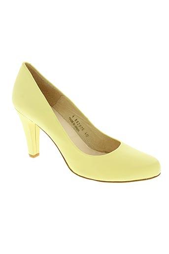 gadea chaussures femme de couleur jaune