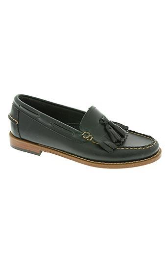 g.h.bass&co. chaussures femme de couleur bleu