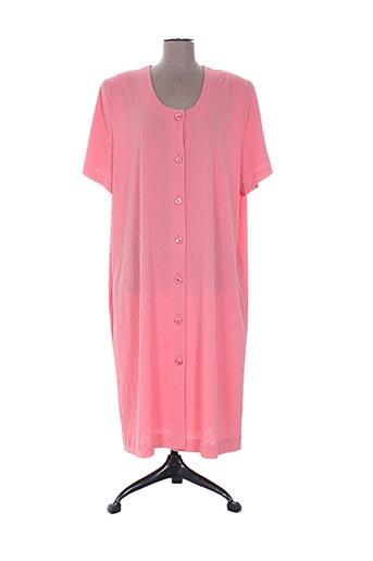 Robe de chambre rose EGATEX pour femme