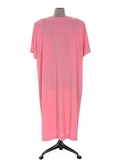 Robe de chambre rose EGATEX pour femme seconde vue
