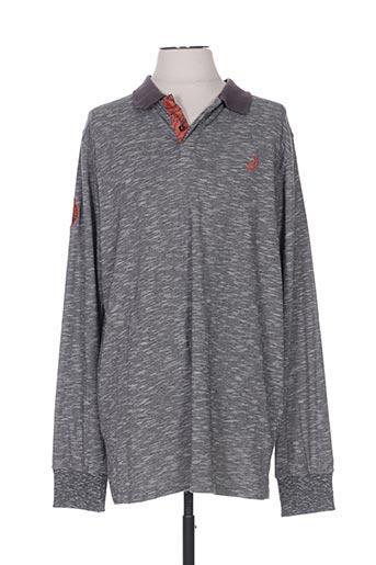 jn-joy t-shirts homme de couleur gris