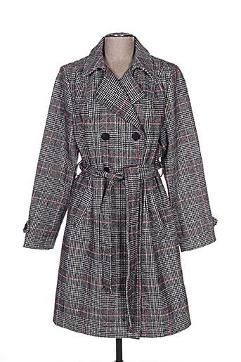 escandelle manteaux femme de couleur gris