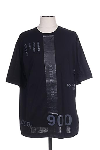 T-shirt manches longues noir DIESEL pour homme