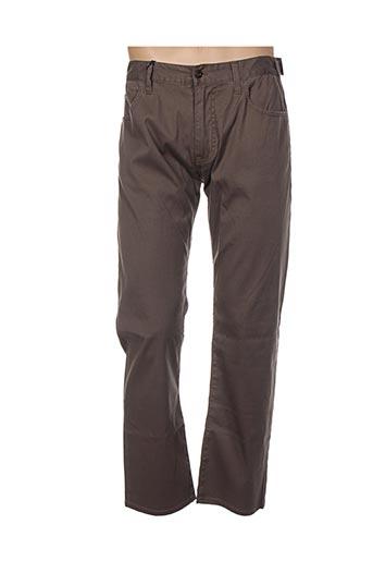 Pantalon casual marron ARMANI pour homme