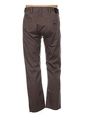 Pantalon casual marron ARMANI pour homme seconde vue