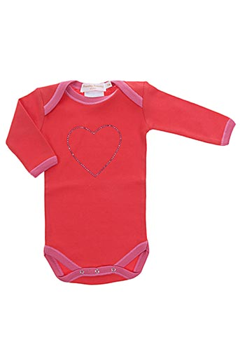 frenchy yummy t-shirts fille de couleur rouge