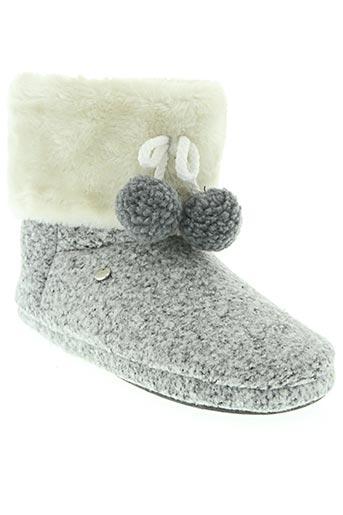 esprit chaussures femme de couleur gris