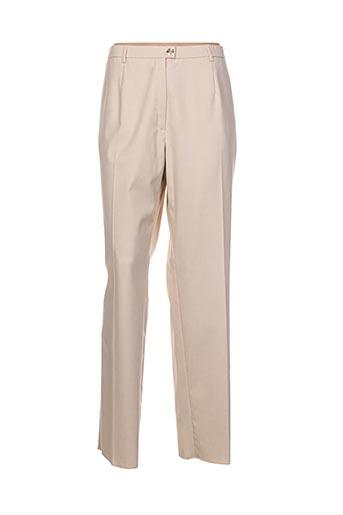 k'tendances pantalons femme de couleur beige