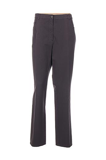 gelco pantalons femme de couleur gris
