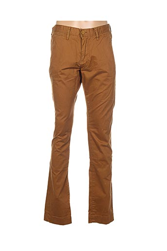 Pantalon casual marron TEDDY SMITH pour garçon
