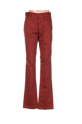 Pantalon casual marron TEDDY SMITH pour garçon