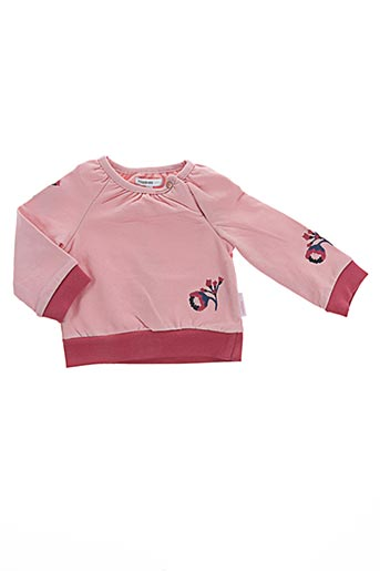 Pull col rond rose NOPPIES pour fille