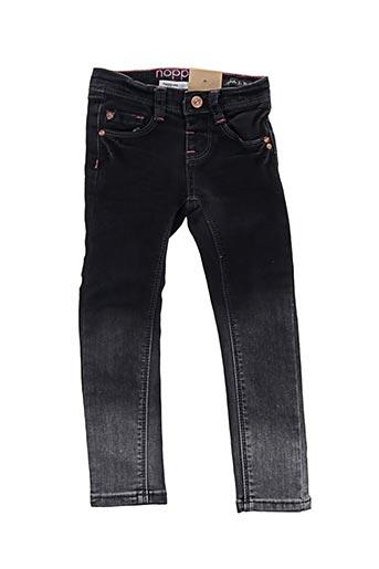 Pantalon casual noir NOPPIES pour fille