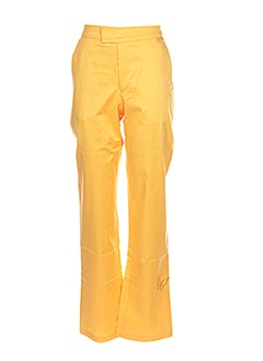 Pantalon casual jaune IL ETAIT UNE FEE pour fille