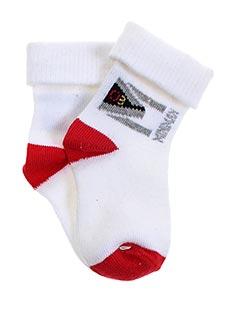 Chaussettes blanc MINIMAN pour garçon