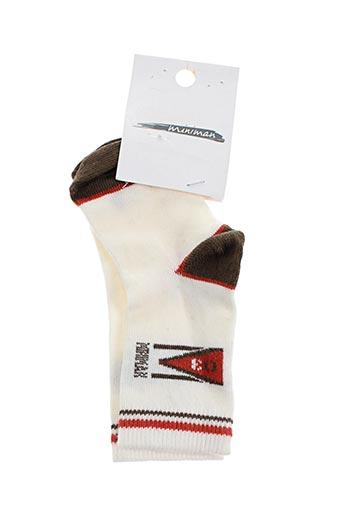 Chaussettes blanc BUTTERFLY pour garçon