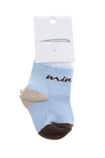 Chaussettes bleu MINIMUM pour garçon