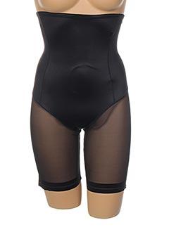 Culotte gainante noir JANIRA pour femme