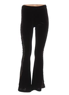 Pantalon chic noir VALERIE KHALFON pour femme