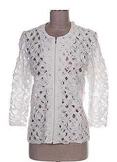 Veste casual blanc VALERIE KHALFON pour femme