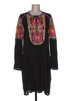 Robe mi-longue noir VALERIE KHALFON pour femme