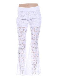 Pantalon chic blanc VALERIE KHALFON pour femme