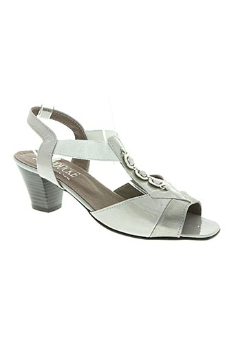 jmg houcke chaussures femme de couleur gris