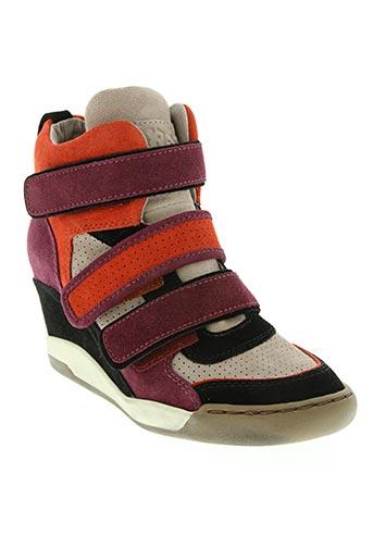 ash chaussures femme de couleur rouge