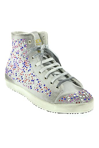 happiness shoes chaussures femme de couleur blanc