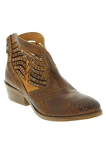 Bottines/Boots marron AREA FORTE pour femme