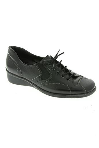 modo podulo chaussures femme de couleur noir