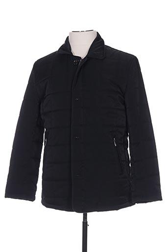 BENNY LES HOMMES Manteaux Doudounes de couleur noir en soldes pas cher 1280514 noir00 Modz