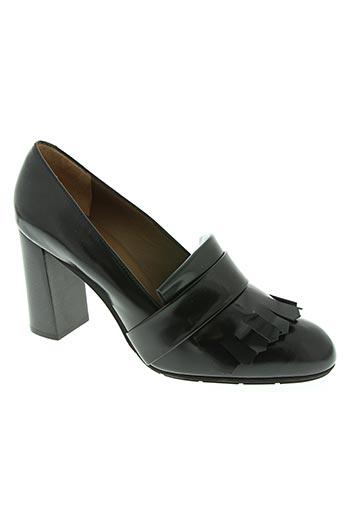 john grey chaussures femme de couleur noir