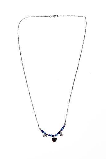 Collier bleu BOUTIQUE GRANDJEAN VALÉRIE pour femme