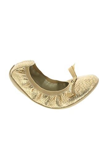 les p'tites bombes chaussures femme de couleur jaune