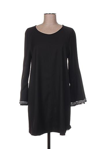 Robe courte noir ÉCLÀ pour femme