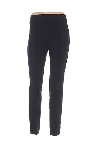 Pantalon casual noir MANILA GRACE pour femme