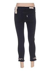 Pantalon 7/8 noir MANILA GRACE pour femme seconde vue
