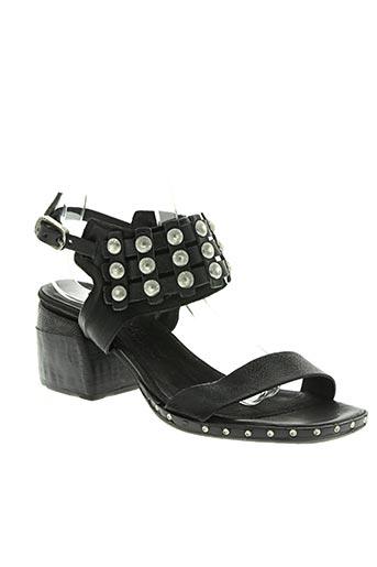 a.s.98 chaussures femme de couleur noir