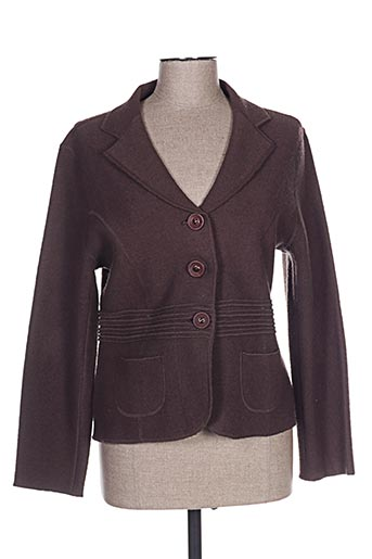 Veste casual marron FINETTE pour femme