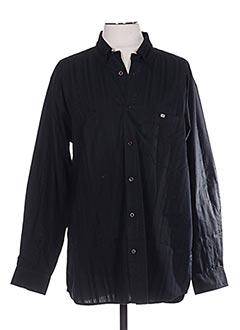Chemise manches longues noir TBS pour homme