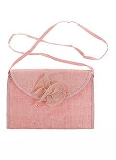 Pochette rose BOCAGE pour femme