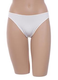 String/Tanga blanc LEJABY pour femme