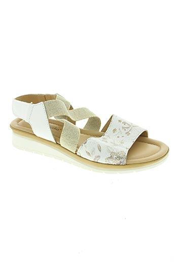 origini studio chaussures femme de couleur blanc